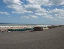 Mar de las Pampas vista del balneario desde el medano