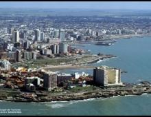 Mar del Plata desde el aire