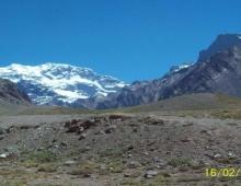 Cerro Aconcagua desde la ruta 7