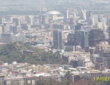 Santiago de Chile vista desde el Cerro San Cristobal