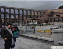 Acueducto de Segovia , cerca de Madrid
