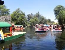 Jardineras en Xochimilco