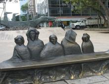 Exposición de Banco - Paseo de la Reforma - dementores de Harry Poter